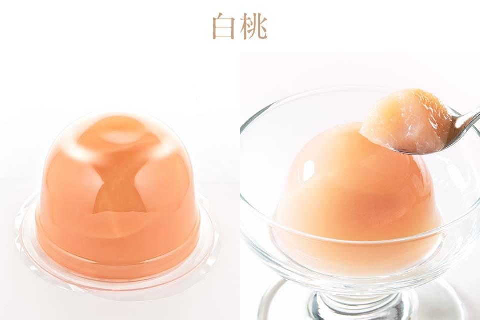 堂島フルーツゼリーの白桃